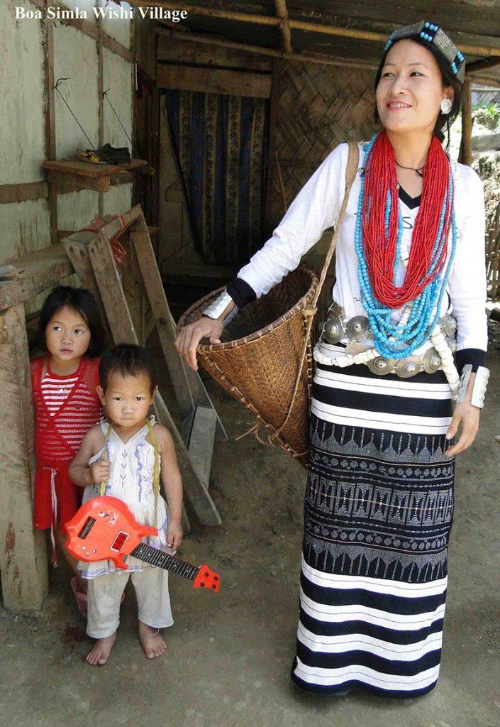 femme à Boa Simla Wishi Village